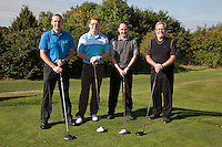 UHY Hacker Young - From left, Darren Evans, Jack Hayes, James Simmonds and Tim Clarke