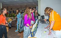 Hilversum, Netherlands, August 7, 2017, National Junior Championships, NJK, Match control<br /> Photo: Tennisimages/Henk Koster