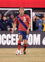 Tim Chandler. The USMNT tied Argentina, 1-1, at the New Meadowlands Stadium in East Rutherford, NJ.