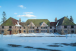 Rockefeller Hall at the Schoodic Institute on the Schoodic Peninsula in Acadia National Park, Maine, USA