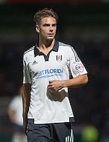 Alex Kacaniklic of Fulham during the Capital One Cup match between Wycombe Wanderers and Fulham at Adams Park, High Wycombe, England on 11 August 2015. Photo by Andy Rowland.