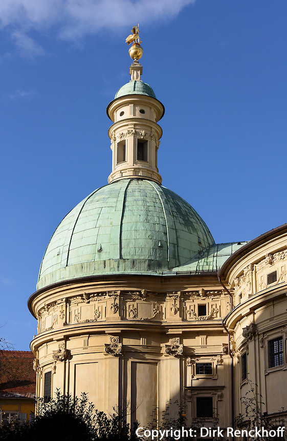 Mausoleum beim Dom, Graz, Steiermark, Österreich, UNESCO-Weltkulturerbe<br /> Mausoleum near cathedral, Graz, Styria, Austria, heritage site