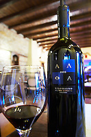 Xinomavro. Alpha Estate Winery, Amyndeon, Macedonia, Greece