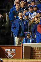 Chicago Cubs owner Thomas S. Ricketts in the eighth inning during Game 5 of the Major League Baseball World Series against the Cleveland Indians on October 30, 2016 at Wrigley Field in Chicago, Illinois.  (Mike Janes/Four Seam Images)