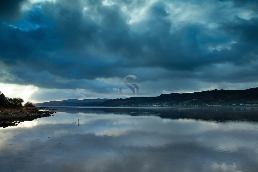 Loch Gilp from Lochgilphead, Argyll & Bute