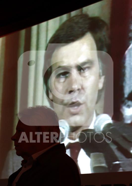"Madrid,Spain - 16 10 2014- ""politics""-Former Spanish Socialist Leader Felipe Gonzalez during at the 40th anniversary ceremony of the Suresnes Congress (Foto: Guillermo Martinez /Bouza Press)"