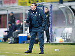 Dundee v St Johnstone…10.03.18…  Dens Park    SPFL<br />Saints boss Tommy Wright shouts instructions<br />Picture by Graeme Hart. <br />Copyright Perthshire Picture Agency<br />Tel: 01738 623350  Mobile: 07990 594431