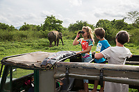 Minneriya National Park, in North Central Sri Lanka, famed in Asia as a gathering place for wild Asian Elephants.