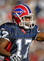 21 October 2007: Buffalo Bills wide receiver Justin Jenkins in action against the Baltimore Ravens at Ralph Wilson Stadium in Orchard Park, NY. The Bills defeated the Ravens 19-14 in front of 70,727 fans marking their second win of the 2007 season...Mandatory Photo Credit: Ed Wolfstein Photo