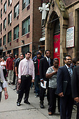 New York, New York<br /> August 15, 2011<br /> <br /> Thousands of New York area residents show up to attend a Jobs Fair at the Manhattan Holiday Inn.
