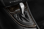 Gear shift detail view of a 2007 - 2011 BMW 1-Series 135i convertible.