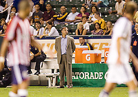 LA Galaxy head coach Bruce Arena. The LA Galaxy defeated Chivas USA 1-0 to win the final edition of the 2009 SuperClásico at Home Depot Center stadium in Carson, California on Saturday, August 29, 2009...