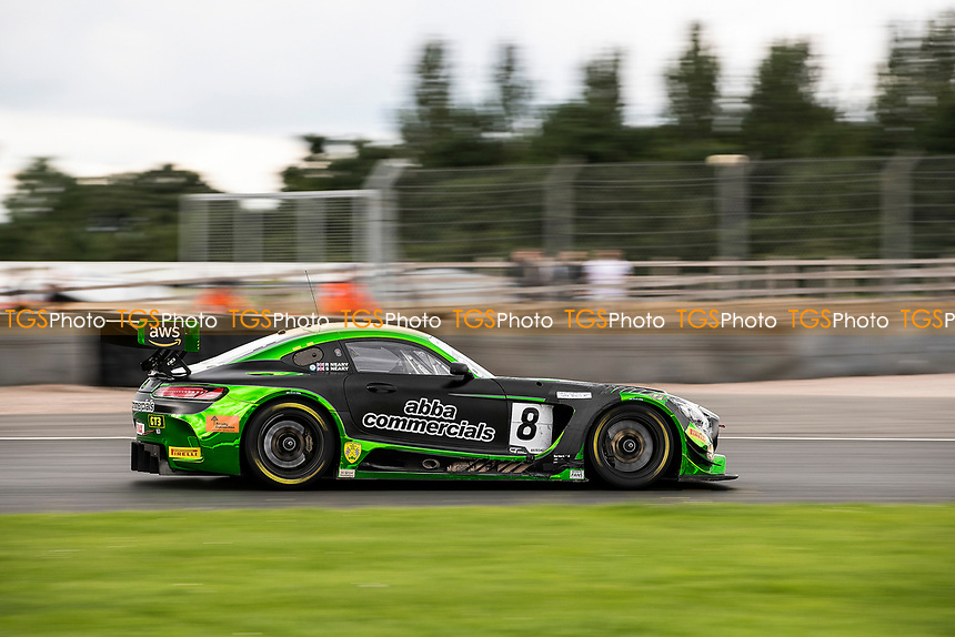 Race winners Richard Neary & Sam Neary, Mercedes AMG GT3, Team Abba Racing through Redgate during the British GT & F3 Championship on 11th July 2021