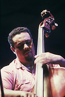 Charles Mingus performing at The Newport Jazz Festival (c.1962)