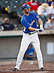 Fort Worth Cats Outfielder Brian Fryer (8) in action during the American Association of Independant Professional Baseball game between the Amarillo Sox and the Fort Worth Cats at the historic LaGrave Baseball Field in Fort Worth, Tx. Fort Worth defeats Amarillo 3 to 0......