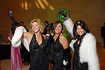 Susan Plank, Debbie Festari and Ericka Bagwell at the Socitey for the Performing Arts Gala at Jones Hall Saturday  March 29,2008.(Dave Rossman/For the Chronicle)