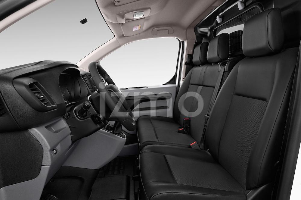 Front seat view of 2016 Toyota Proace Comfort 4 Door Cargo Van Front Seat  car photos
