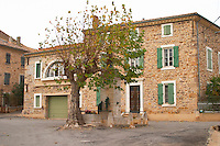 Chateau la Voulte Gasparets. In Gasparets village near Boutenac. Les Corbieres. Languedoc. The villa. France. Europe.