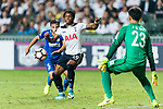 Tottenham Hotspur midfielder Kaaiah Sterling (C) in action during the Friendly match between Kitchee SC and Tottenham Hotspur FC at Hong Kong Stadium on May 26, 2017 in So Kon Po, Hong Kong. Photo by Man yuen Li  / Power Sport Images