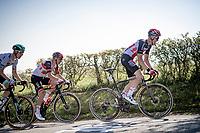 Tim Wellens (BEL/Lotto-Soudal) up the Côte de La Redoute<br /> <br /> 107th Liège-Bastogne-Liège 2021 (1.UWT)<br /> 1 day race from Liège to Liège (259km)<br /> <br /> ©kramon