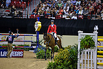 17 April 2015: MADDEN, Elizabeth on Simon in the jump off