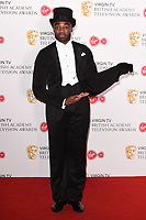 Ore Oduba<br /> in the winners room for the BAFTA TV Awards 2018 at the Royal Festival Hall, London<br /> <br /> ©Ash Knotek  D3401  13/05/2018