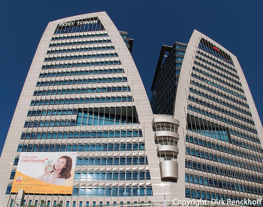 Hauptpost im Viertel Myeongdong, Seoul, Südkorea, Asien<br /> Main post office  in Myeongdong, Seoul, South Korea, Asia