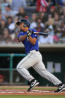 April 17, 2010: Angel Castillo of the Rancho Cucamonga Quakes during game against the Lancaster JetHawks at Clear Channel Stadium in Lancaster,CA.  Photo by Larry Goren/Four Seam Images