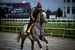 September 2, 2020: Enforceable exercises as horses prepare for the 2020 Kentucky Derby and Kentucky Oaks at Churchill Downs in Louisville, Kentucky. The race is being run without fans due to the coronavirus pandemic that has gripped the world and nation for much of the year. Evers/Eclipse Sportswire/CSM