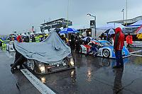 Rain on the grid.