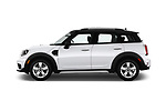 Car Driver side profile view of a 2018 MINI Countryman 5-Door 5 Door Hatchback Side View