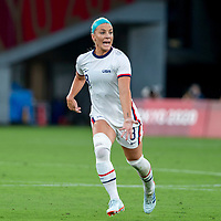 TOKYO, JAPAN - JULY 21: Julie Ertz #8 of the United States during a game between Sweden and USWNT at Tokyo Stadium on July 21, 2021 in Tokyo, Japan.
