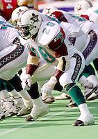Tony Burse San Antonio Texans 1995. Photo F. Scott Grant