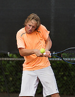 08-08-13, Netherlands, Rotterdam,  TV Victoria, Tennis, NJK 2013, National Junior Tennis Championships 2013,  Jelle Sels   <br /> <br /> <br /> Photo: Henk Koster