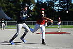 NELSON, NEW ZEALAND - Under 13 Baseball Nationals. Saxton Field, Stoke, New Zealand. Thursday 8 April 2021. (Photo by Chris Symes/Shuttersport Limited)