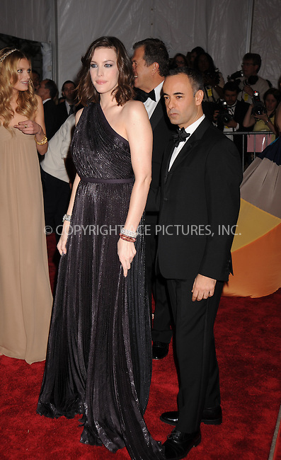 WWW.ACEPIXS.COM . . . . . ....May 5 2008, New York City....Actress Liv Tyler and designer Francisco Costa arriving at the Metropolitan Museum of Art Costume Institute Gala, Superheroes: Fashion and Fantasy, held at the Metropolitan Museum of Art on the Upper East Side of Manhattan.....Please byline: KRISTIN CALLAHAN - ACEPIXS.COM.. . . . . . ..Ace Pictures, Inc:  ..(646) 769 0430..e-mail: info@acepixs.com..web: http://www.acepixs.com