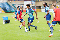 Sido Jombati of Wycombe Wanderers during the Open Training Session in front of supporters during the Wycombe Wanderers 2016/17 Team & Individual Squad Photos at Adams Park, High Wycombe, England on 1 August 2016. Photo by Jeremy Nako.