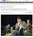 Peter Eyre, Minetti rehearsals, The Arts Desk, 05.08.14