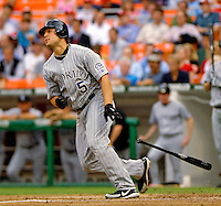 13 June 2006: Matt Holliday, left fielder for the Colorado Rockies, at bat during a game against the Washington Nationals at RFK Stadium, in Washington, DC. The Rockies defeated the Nationals 9-2 in the second game of the four-game series...Mandatory Photo Credit: Ed Wolfstein Photo..