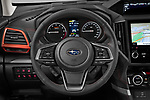 Car pictures of steering wheel view of a 2021 Subaru Forester e-Boxer-Sport 5 Door SUV Steering Wheel