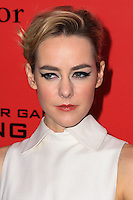 """NEW YORK, NY - NOVEMBER 20: Jena Malone at the New York Premiere Of Lionsgate's """"The Hunger Games: Catching Fire"""" held at AMC Lincoln Square Theater on November 20, 2013 in New York City. (Photo by Jeffery Duran/Celebrity Monitor)"""