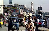 Islamabad / Pakistan.People in the street..Photo Livio Senigalliesi