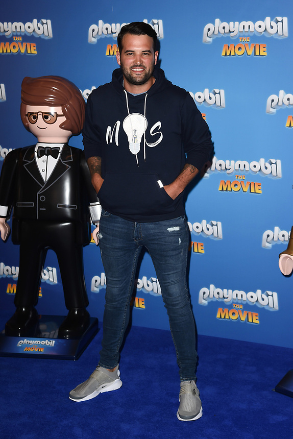 """Ricky Rayment<br /> arriving for the """"Playmobil:The Movie"""" premiere at the Vue Leicester Square, London<br /> <br /> ©Ash Knotek  D3515  04/08/2019"""