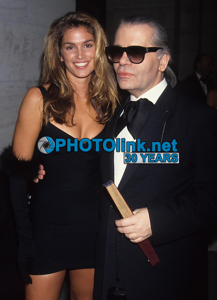 Cindy Crawford Karl Lagerfeld 1992<br /> Photo by Adam Scull/PHOTOlink