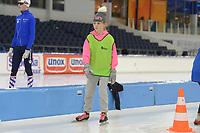 SCHAATSEN: HEERENVEEN: 2019, IJsstadion Thialf, schaatsjeugd, ©foto Martin de Jong