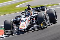 16th July 2021; Silverstone Circuit, Silverstone, Northamptonshire, England; F2 British Grand Prix, Free Practice; Christian Lundgaard in his ART Grand Prix Dallara F2 2018