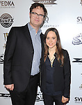 Rainn Wilson and Ellen Page at The IFC Midnight L.A. Premiere of SUPER held at The Egyptian Theatre in Hollywood, California on March 21,2011                                                                               © 2010 Hollywood Press Agency
