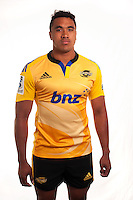 Iopu Iopu-Aso. Hurricanes Super Rugby official headshots at Rugby League Park, Wellington, New Zealand on Tuesday, 13 January 2015. Photo: Dave Lintott / lintottphoto.co.nz
