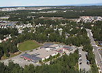 Ptarmigan Elementary School, Anchorage, Alaska. Aerial photograph.(2011)
