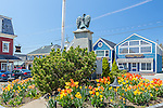 Dock Square in Kennebunkport, Maine, USA